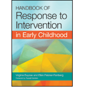 Picture of Handbook of Response to Intervention in Early Childhood