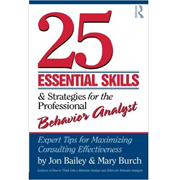Picture of 25 Essential Skills for Behavior Analysts (Book)