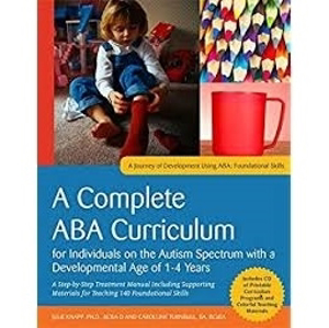 Picture of A Complete ABA Curriculum for Individuals on the Autism Spectrum with a Developmental Age of 1-4 Years