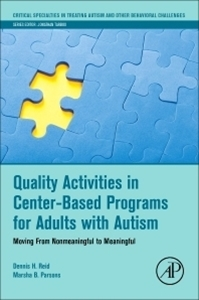 Picture of Quality Activities in Center-Based Programs for Adults with Autism