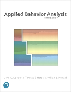 Picture of Applied Behavior Analysis, 3rd Edition
