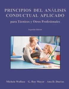 Picture of Principios Del Analisis Conductual Aplicado para Tecnicos y Otros Profesionales